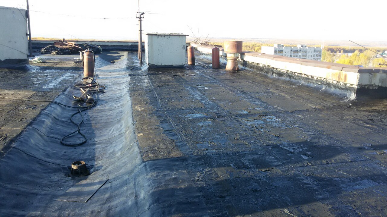 Ремонт крыши и кровли в частном доме